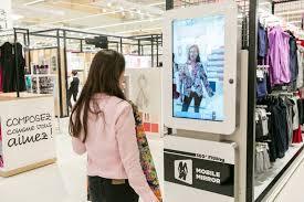 Essayage virtuel en magasin